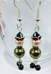Christmas Elf Earrings Kit with SWAROVSKI® ELEMENTS